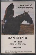 "DAN BETZER ""THE LAST MILE OF THE WAY"" CASSETTE  1981"