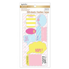 Recollections Creative Year Zipper Planner - Sassy Saying Die-Cut Sticky Notes
