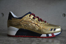 Asics x Ronnie Fieg Gel Lyte 3 'KFE' USA - Gold/Gold 6.5 UK