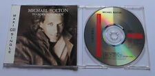 Michael Bolton - To love somebody - 3 trx Maxi CD MCD
