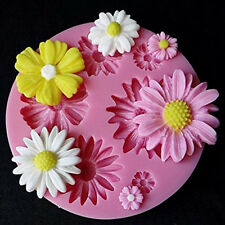 New 3D Flower Silicone Mold Fondant Cake Decor Chocolate Sugarcraft Mould DIY