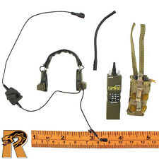 Dragoon SFG Veteran - Radio w/ Headphones - 1/6 Scale Easy Simple Action Figures