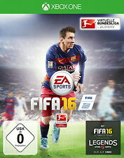 FIFA 16 - XBOX ONE - TOP - Game- Fussball-Spiel - Deluxe Edition - FIFA16