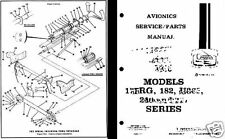 CESSNA 182 Skylane PERIOD PARTS SERVICE MANUAL  detailed archive 1970's