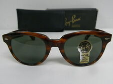 New Vintage B&L Ray Ban Dallas Mock Tortoise W0903 Wayfarer Set USA NOS