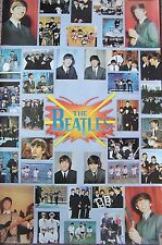 VINTAGE POSTER~Beatles Original 1976 #135 Collage One Stop Classic 23x35""
