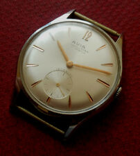 Vintage 1950s AVIA KING Oversized NOS Swiss Watch Working Wristwatch
