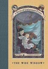 A Series of Unfortunate Events The Wide Window 3 Lemony SNICKET NEW HARDCOVER