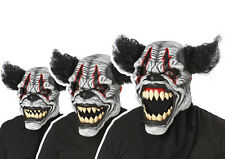 Adult Last Laugh The Clown Opening Mouth Animotion Costume Mask