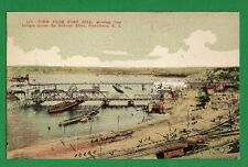 US RHODE ISLAND - PROVIDENCE, VIEW FROM FORT HILL VINTAGE PC 61