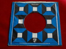 "PHILIPS~ # 3 ~ VINTAGE ORIGINAL ~ RECORD COMPANY SLEEVE ~ 7"" SINGLE 45 RPM"