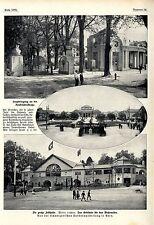 Von der Schweizerischen Landesausstellung in Bern * Drei Bilddokumente 1914