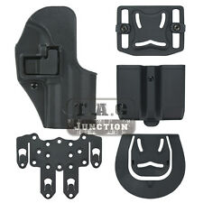 Tactical CQC Serpa RH Pistol Holster w/ Mag Pouch & Platform for H&K USP Compact