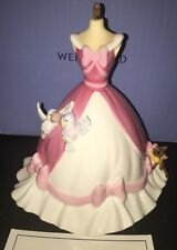 Wedgwood Disney Pink Cinderella Dress 81 Of 2,000 BRAND NEW & RARE