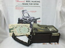 Viewmaster Cutter for Personal Stereo Camera-Exllent Condt+2 NEW reels