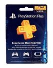 Sony PlayStation Plus 1 Year Membership Subscription Paper NEW!