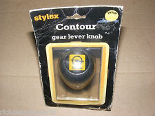 STYLEX CONTOUR GEAR LEVER KNOB WITH OPEL BADGE NOS