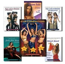 Sadie Super 7 Learn Belly Dance DVD Set - 7 DVDs / Videos