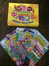 MOSHI MONSTERS ACTIVITY CARRY CASE 5 BOOKS RRP £14.95 MOSHLINGS SUMMER HOLIDAY