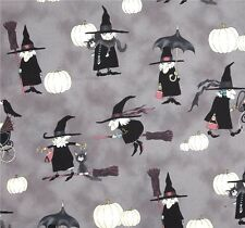 Alexander Henry Witchy Woman Halloween patchwork tessuto streghe