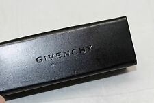 Authentic GIVENCHY Sunglasses Case Black Glasses Hard Shell Compartment