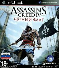 Assassin's Creed IV Черный флаг (PS 3, 2013) Russian version, Русская версия