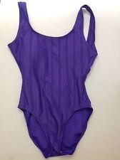 Catalina Women's One Piece Swimsuit Size 4/6 Tall Purple
