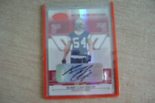 Bobby Carpenter 2006 Leaf Certified Materials Red Auto Rc 043/250 Dallas Cowboys