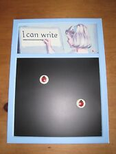 Lovely Ladybird Books 'I Can Write' Chalk/Memo/Black Board With Ladybird Magnets