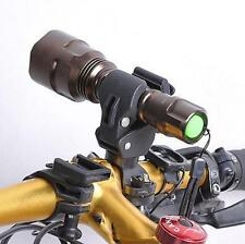 360 Degree Bicycle LED Flashlight Mount Holder For Bicycle Torch Clip Clamp HOT