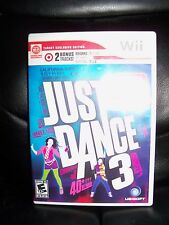 Just Dance 3 (Nintendo Wii, 2011) EUC