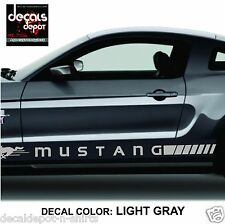 Rocker Panel Decal Stripe Fits FORD Mustang  2005 2007 2008 2009 2010 to 2016