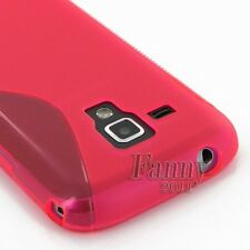 HP. Silicone Gel Rubber TPU Skin Cover Case for Samsung Galaxy Trend Plus, S7580