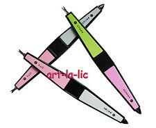 4 Way Nail Tips Buffer File Trimmer Cuticle Pusher Manicure Pedicure Nail Art