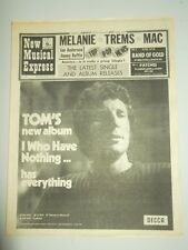 NME #1242 OCTOBER 31 1970 IAN ANDERSON JIMMY RUFFIN CLARENCE CARTER TOM JONES