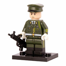 Army Honor Guard military minifigure custom toy W Lego Sticker Soldier