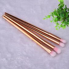Trendy Pro Makeup Tool 4pcs Foundation Powder Eyeshadow Eyeliner Lip Brush Set