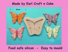Butterfly mould 55mm  Silicone Mould Make Cake Toppers Gum Paste Cake Decorating