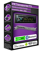 VW Transporter t5 DAB Radio, STEREO PIONEER LETTORE CD USB AUX, kit bluetooth