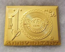 HARD ROCK CAFE HOLLYWOOD FL 10TH ANNIVERSARY MAGNET