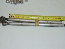 2 Vintage 72-74 Arctic Cat Snowmobile Steering Tie Rod 0105-149