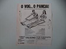 advertising Pubblicità 1972 VOGATORE VOG - ORVIL MAX MAGIC