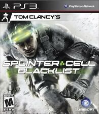 Tom Clancy's Splinter Cell: Blacklist  (Playstation 3, 2013)