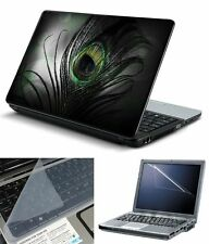 laptop skins Feather With Screen Guard and Key Board Protector (3in1 Combo)14.1""
