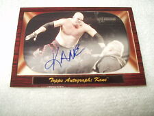 WWE Wrestling Autograph Card Kane Heritage 2005