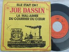 SP  Dassin Joe - elle était oh... Label : CBS Pressage : 7716 - France