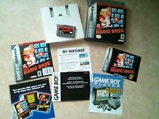 Super Mario Bros. Classic NES Series Nintendo GBA Complete Box Instruction