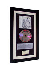 METALLICA And Justice For All CLASSIC CD GALLERY QUALITY FRAMED+FAST GLOBAL SHIP