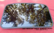 2001 MERCURY SABLE YEAR SPECIFIC  SUNROOF GLASS OEM NO ACCIDENT!  FREE SHIPPING!