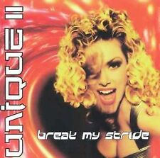 Break My Stride [Maxi Single] by Unique II (CD, May-1997, Columbia (USA))